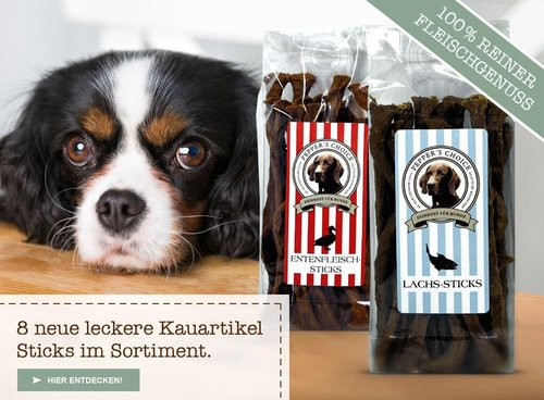 +++ NEW +++ Pepper´s Choice Fleischsticks